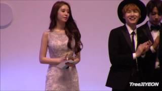 getlinkyoutube.com-[FanCam] JIYEON #티아라 2015 Cable TV Broadcasting Awards (2)