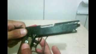 Pistola 0.38 caseira