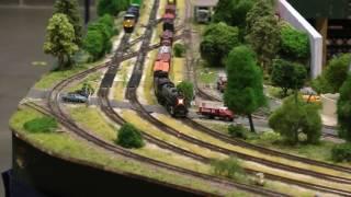 Gateway N Trak N scale model train layout, Great Train Show, St. Charles, MO (1 of 2)