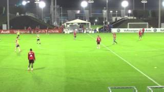 getlinkyoutube.com-FC Bayern Team Training Tactical Session Doha 2014 - 2