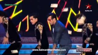 getlinkyoutube.com-Salman Khan performs 'Baaki Sab First Class Hai' at BSEA 2013 !