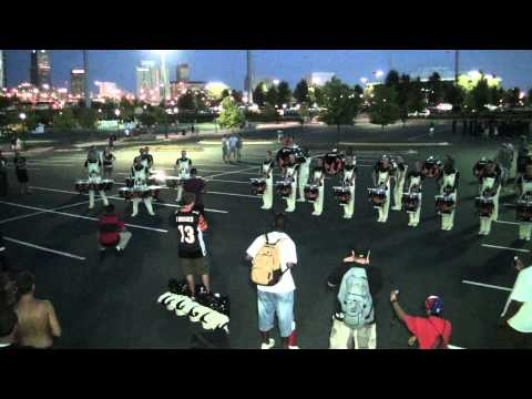 "DCI 2011 Carolina Crown Drumline @ GA Dome ""Book"" (3 of 4)"