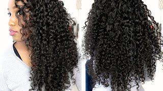 getlinkyoutube.com-Her Hair Company Brazilian Curly - First Impressions