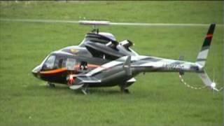 getlinkyoutube.com-Bell 430 RC Turbine Helicopter LX-MARC 1st Flight