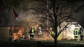 NRWspot.de | Hagen – Laubenbrand in der Malmkestraße