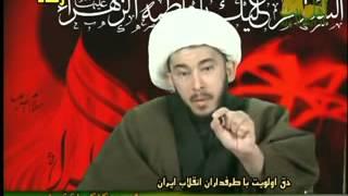 فیلم روبوسی خامنه ای با رهبر طالبان!