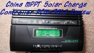 getlinkyoutube.com-Chinese MPPT Solar Charger MPPSolar PCM-3012 Review