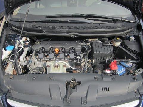 Где находится у Honda Civic 4D ремень генератора