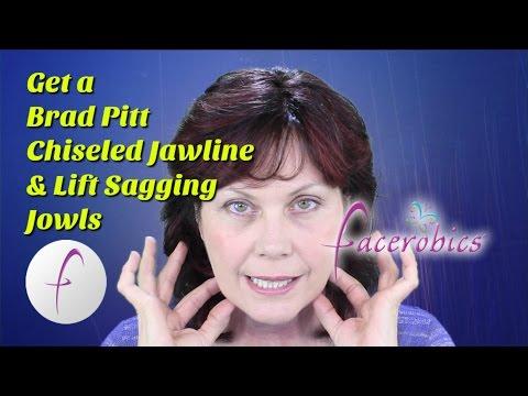 Chiseled Jawline Exercise for Men Lift Sagging Jowls Exercise for Women   FACEROBICS®