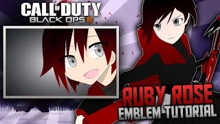 getlinkyoutube.com-Black Ops 3: Ruby Rose | Anime Emblem Tutorial (RWBY)