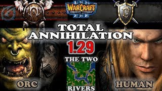 Grubby   Warcraft 3 The Frozen Throne   ORC v HU - Total Annihilation - The Two Rivers