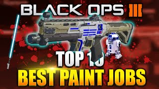 "getlinkyoutube.com-Black Ops 3 - ""TOP 10 PAINTSHOP CAMOS!"" STAR WARS EDITION! Best Rare Paintjob Camo - (BO3 Rare Camo)"
