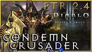 getlinkyoutube.com-Diablo 3 - 2.4 PTR : Condemn Akkhan Crusader Build