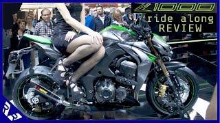 getlinkyoutube.com-2015 Kawasaki Z1000 High Speed Ride and Review | RWR
