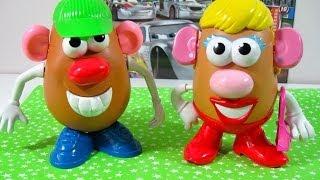 getlinkyoutube.com-Señor y Señora Potato Nuevo modelo de Señora Potato - Juguetes de  Playskool Hasbro