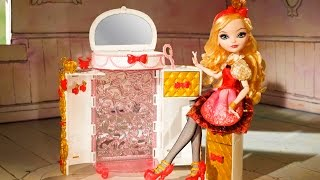getlinkyoutube.com-Apple White's Jewelry Box - Ever After High - CFB18 - MD Toys