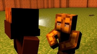 getlinkyoutube.com-PALUFFEL FIGHT | Minecraft Animation |
