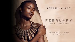RALPH LAUREN |  February 2017 Fashion Show Live
