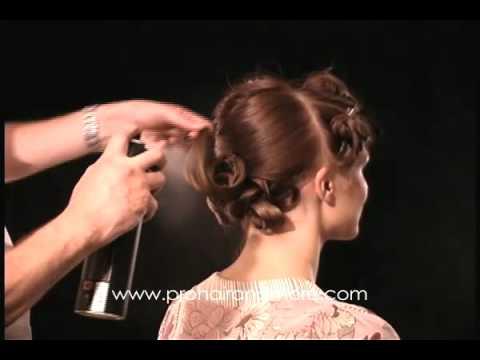 Como hacer un peinado de noche o boda  paso a paso Solo para Estilistas by PHM