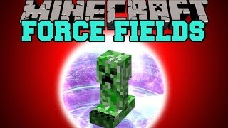 getlinkyoutube.com-Minecraft: FORCE FIELD (DESTROY MOBS WITH YOUR FORCE FIELD) Mod Showcase