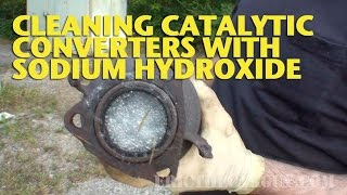 getlinkyoutube.com-Cleaning Catalytic Converters with Sodium Hydroxide -EricTheCarGuy