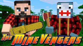 getlinkyoutube.com-Minecraft MineVengers - LUMBER JACKS FOR THE DAY!!