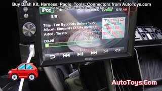 getlinkyoutube.com-Honda Civic JENSEN DOUBLE DIN RADIO INSTALL with DVD IPHONE 5 SD MP3 (8th GEN)