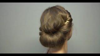 getlinkyoutube.com-3分で出来るヘアバンドを使ったヘアアレンジ。ギリシャスタイル。