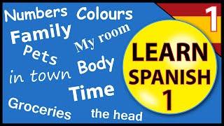 getlinkyoutube.com-Learn Spanish for beginners:  Lesson 1
