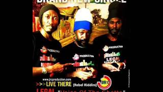 Legal Feat. Lutan Fyah & Norris Man - Live there (New Single) (June 2017)