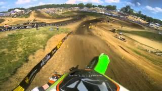 getlinkyoutube.com-GoPro HD: Ryan Villopoto Full Moto 2 - Muddy Creek Lucas Oil Pro Motocross Championship 2013