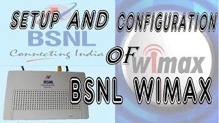 getlinkyoutube.com-SETUP AND CONFIGURATION OF BSNL WIMAX