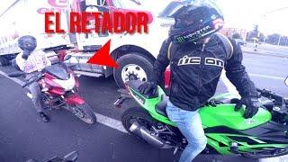 getlinkyoutube.com-NINJA 300 VS PULSAR 180 - DRAG RACE - TOP SPEED EN CIUDAD