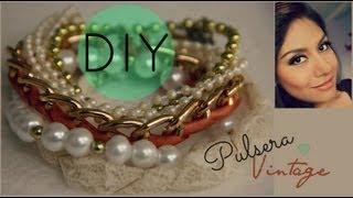 getlinkyoutube.com-DIY Vintage Bracelet