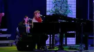 Bailey Rudoski performing Hear it Rise at Elim Taberacle