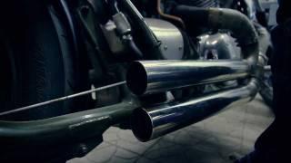 getlinkyoutube.com-Honda Steed 600 Bobber by Noise Motorcycles
