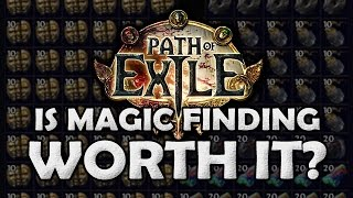 getlinkyoutube.com-Path of Exile: Is Magic Finding Worth it? - 5 Day Magic Find Project (With Data!)