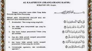 Al Kafirun Al Quran Terjemahnya