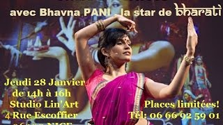 Bhavna PANI :BHARATI'S Star:Bollywood workshop in NICE / Stage Bollywood  à NICE