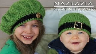 getlinkyoutube.com-Learn How to Crochet - Easy Adjustable Magic Ring Loop Circle, Seamless Join & Irish Beret Hats