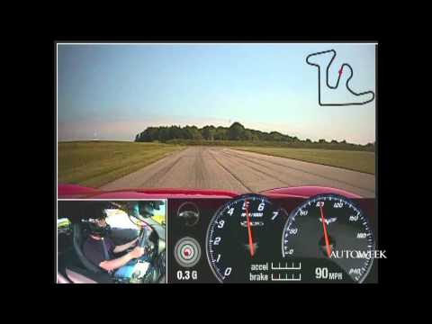 2011 Corvette Z06 video - A hot lap with Autoweek