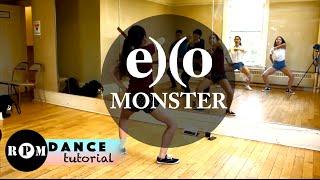"getlinkyoutube.com-EXO ""Monster"" Dance Tutorial (Chorus)"
