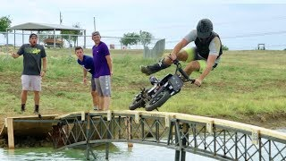 Dirt Bike Battle   Dude Perfect width=