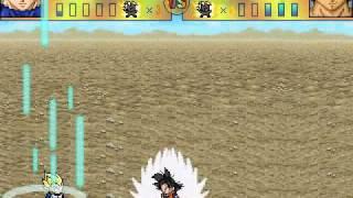 getlinkyoutube.com-Dragon Ball  - PC Game - Battle System Test - Ultimate ShowDown (old version)