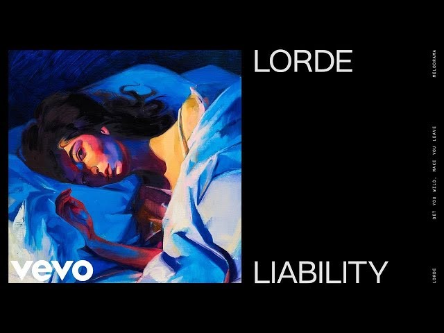 LIABILITY - LORDE karaoke version ( no vocal ) lyric instrumental
