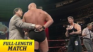 "getlinkyoutube.com-""Stone Cold"" Steve Austin battles Mr. McMahon with one arm tied behind his back"