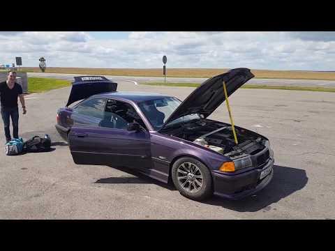 Приключения фиолетовой купешки по дороге с Нюрбургринга в Москву ) клапана печки и глушитель BMW E36
