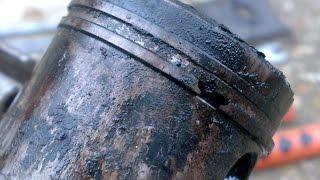 getlinkyoutube.com-Убитые маслом двигатели бензокос и бензопилы. Mutilation engine oil sickle and chain saws.