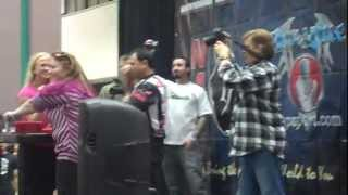 Sarah Bäckman at LA FIT EXPO California Armwrestling Championship │19 – 20 January 2013