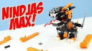 getlinkyoutube.com-LEGO Mixels Series 9 Nindjas Cobrax Spinza & Mysto PDF Max Opening Build